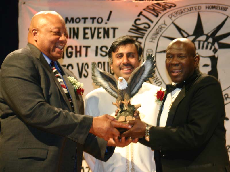 Dr.Abbey Heavyweight Champ James Smith Honoring Emile Griffith 2009