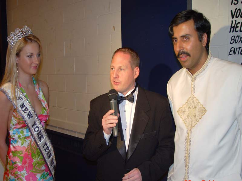 Dr.Abbey with Miss Teen NY 03 & JT Casting 2003