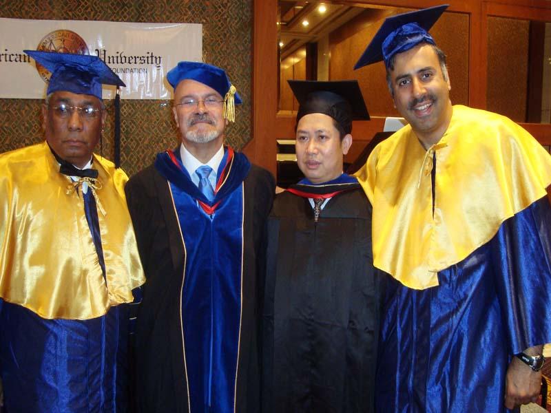 Dr.Abbeys Phd Graduating Ceremony 2010