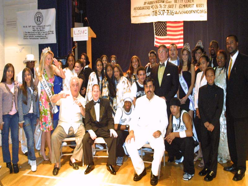 Entertainers and Volunteers at Annual Gala 2005