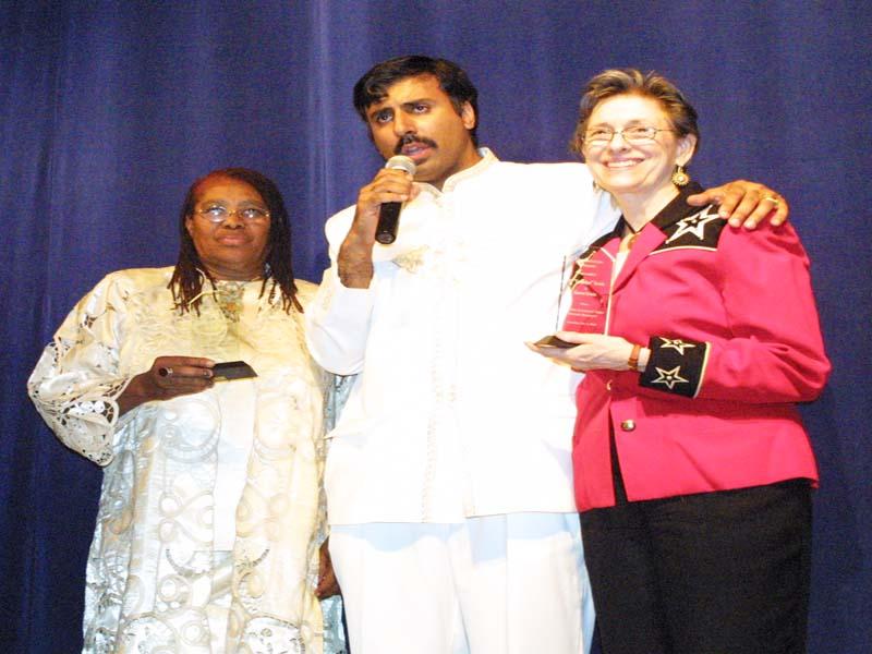 Karen Lewis honored at Gala 2007