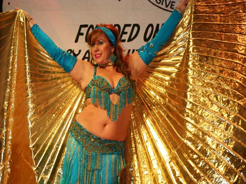 V Belly Dancer Doing a live Performance 2008