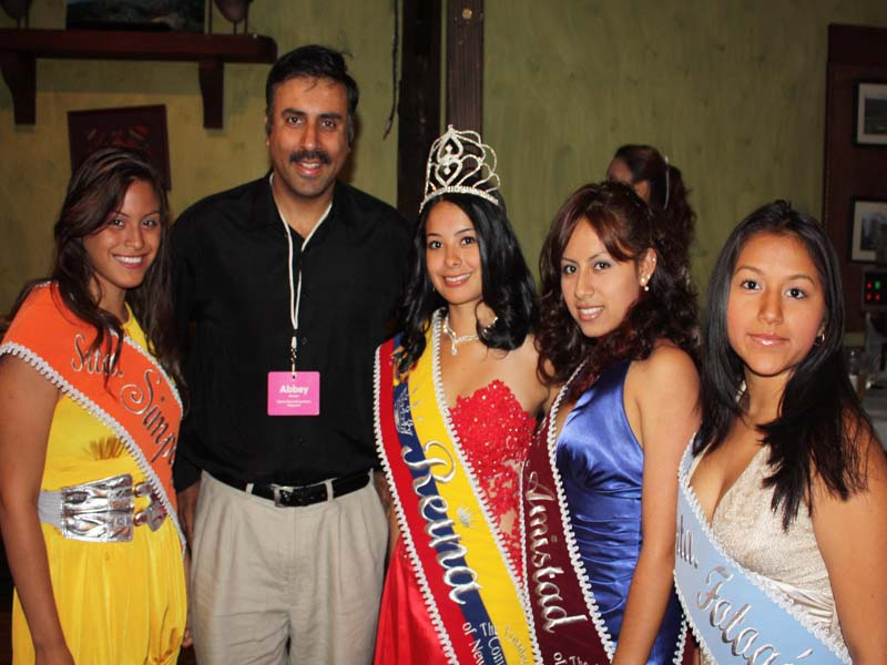 Beauty Queens in attendance 2011