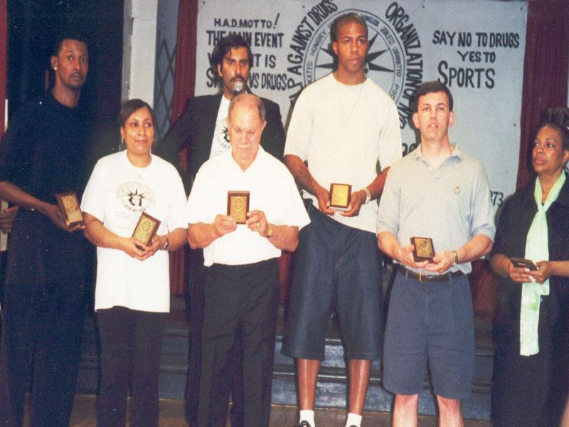 Celeberties at Had Show 2000