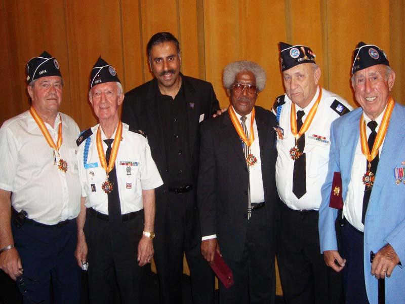 Dr.Abbey Honoring Korean POW 2008