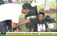 Humanitarians of the World Inc, Daytona Beach Florida Needy & Homeless Presentation -2018