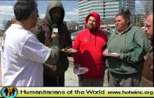 Humanitarians of the World Inc, Delaware  Needy & Homeless Presentation -2018
