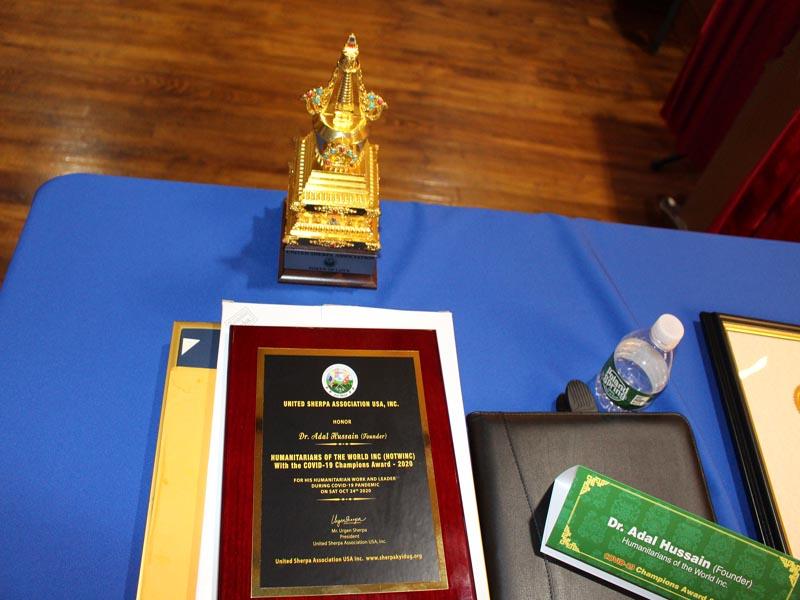 Dr.Abbeys Awards including the Token of Love award