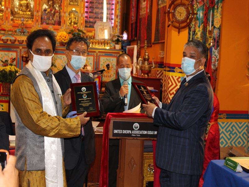 Gayatri Chetna Center awarded the COVID-19 Champion award