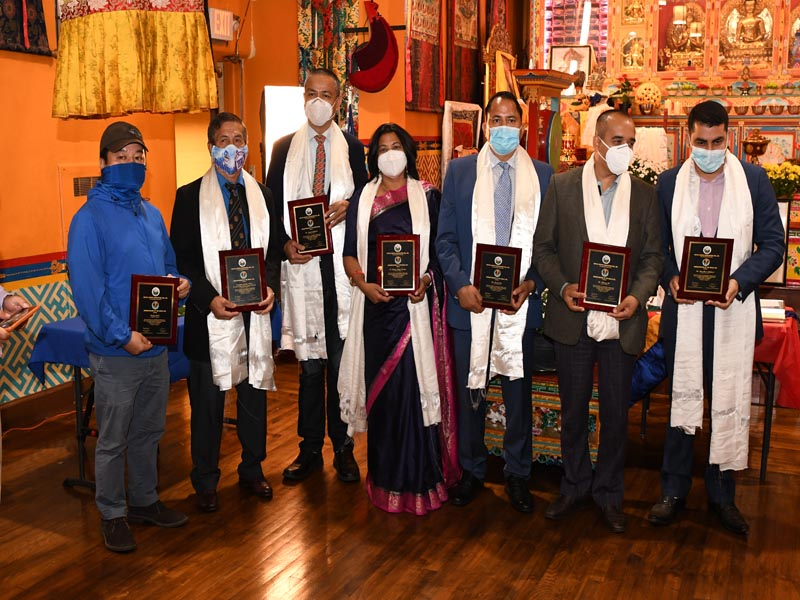 Himalyan honorees honored with the COVID-19 Champions awards