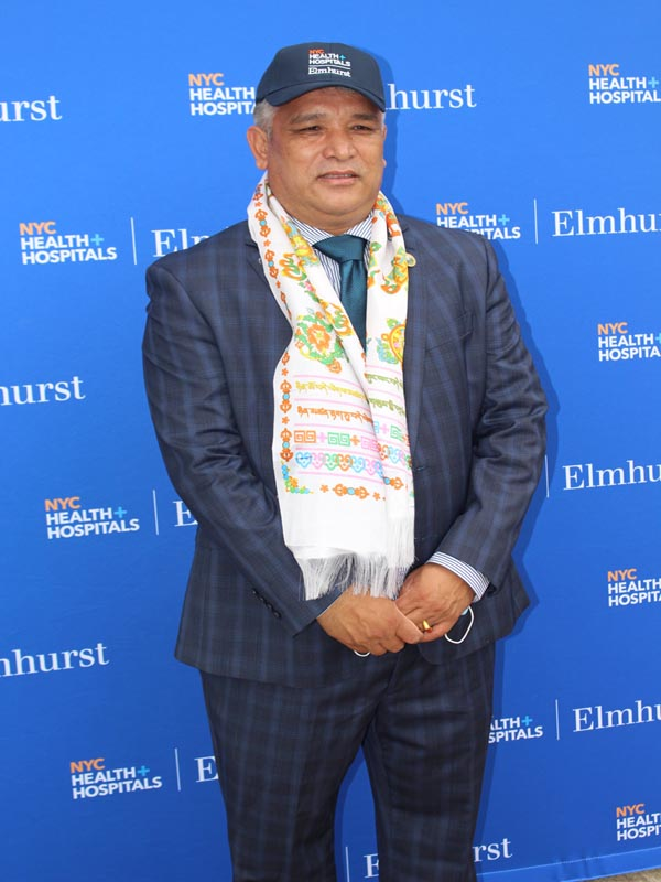 Phurba Sherpa VP of United Sherpa Association Inc