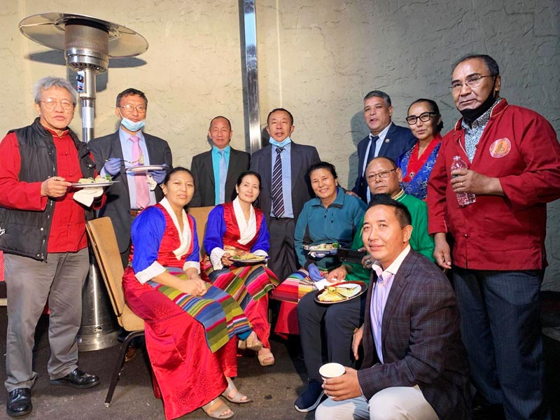 Urgen with United Sherpa Association officers & Volunteers