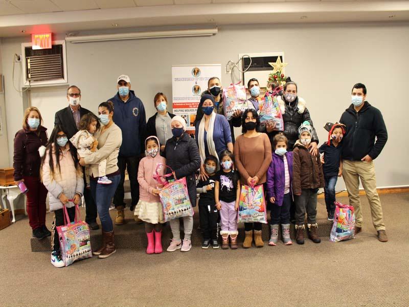 Hotwinc needy family presenation to close to 40 people