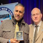 Dr Abbey Honored with the Humanitarian of the year award  by Greater  NY Chamber of Commerce -2021